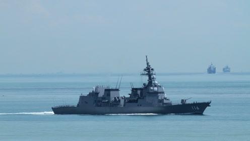 邻国军舰高调出海!携带最新反潜利器,我国海军早已普及同款