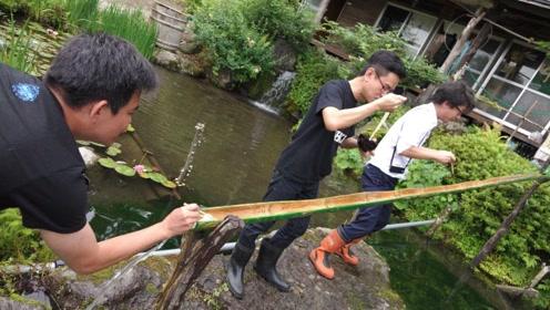 """日本最火的""""流水素面"""",到底有多不卫生?看完简直不想吃了"""