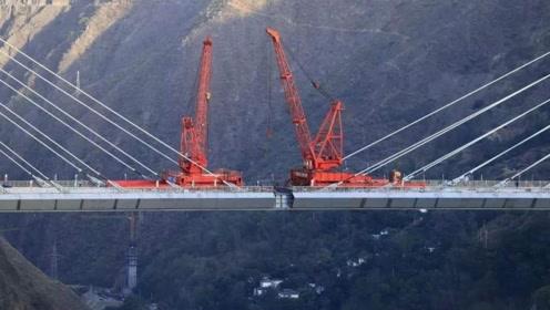 航拍,云南双河特大桥合龙,一桥飞架南北天堑变通途!