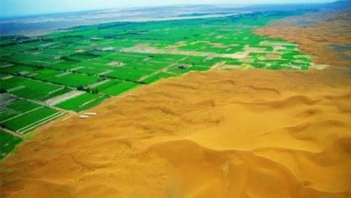 将黄河水引到沙漠会怎样?我国就这样做,让沙漠变成了绿洲