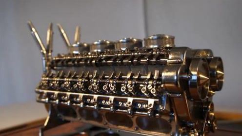 世界首款32缸发动机诞生,难以想象,应用在汽车上会有多可怕!