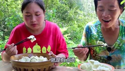 一年只有这个月才有的饺子馅,胖妹为了吃饺子饿了一顿,得吃过瘾来!