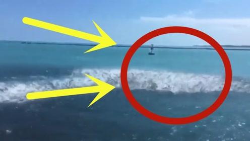 国外小伙去海边游玩,突然海水翻涌,3秒后拍下难以置信的画面!