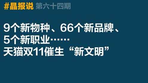 """《晶报说》第六十四期 9个新物种、5个新职业,天猫双11催生""""新文明"""""""