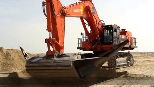 """德国制造""""逆天""""挖掘机,一铲子能挖8吨土,价值6720万"""