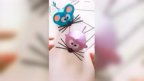 明年就是鼠年了 做个小老鼠给孩子玩吧 马住