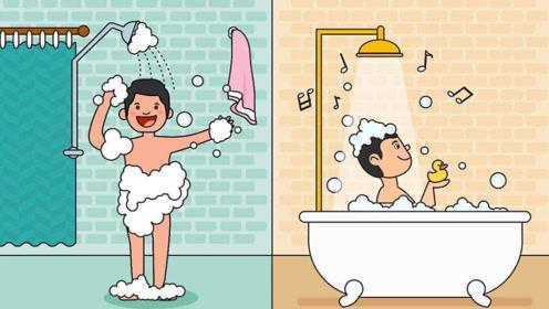 洗澡时,为什么会搓出来灰白色的东西?