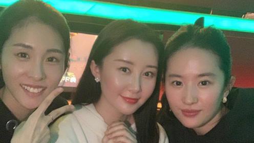 刘亦菲素颜出镜为舒畅庆生 时隔多年再同框两人姐妹情深