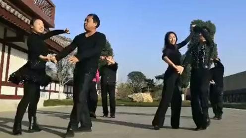 双人舞三步踩金银铜日常训练,美醉了,简单好踩点
