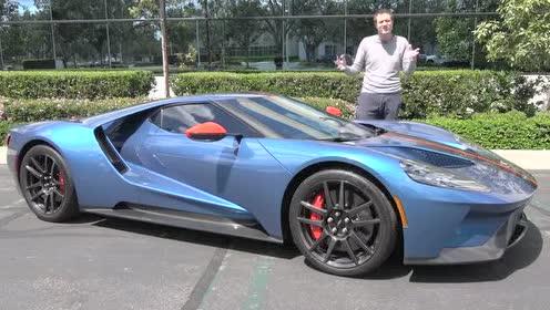 福特GT的最大扭矩为744Nm,还可以
