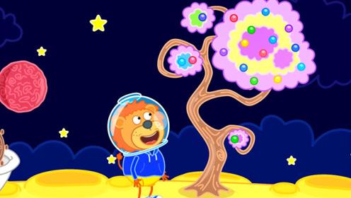 小狮子遨游太空,发现神奇动物能制作宝石,这次真是赚大发了!