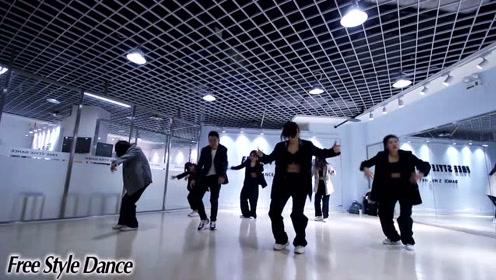 自由式流行舞基地exo-Love Shot男团舞蹈/红牌楼店