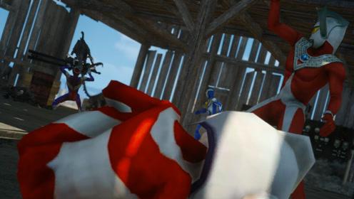 我的光之国05:来到营救点却被怪兽包围,这是奥特之父的阴谋?