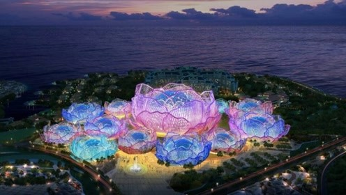 中国将建世界上最大的人工岛,斥资1600亿打造,可容纳11万人