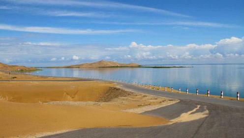 与沙漠共存的湖泊,也是我国最大淡水湖,里面一条鱼能卖近3万