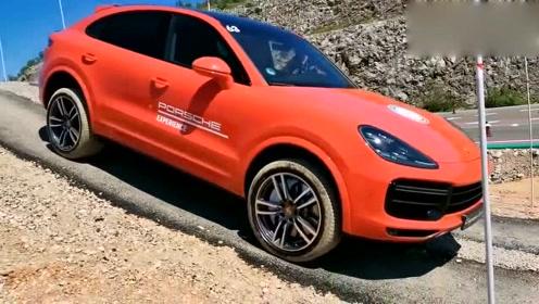 全新保时捷卡宴Turbo Coupe通过能力展示