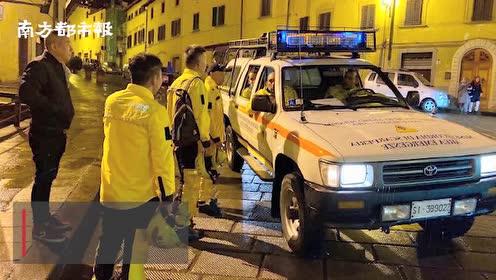 意大利发生4.8级地震,无人员伤亡,当地华人公益组织参与救援