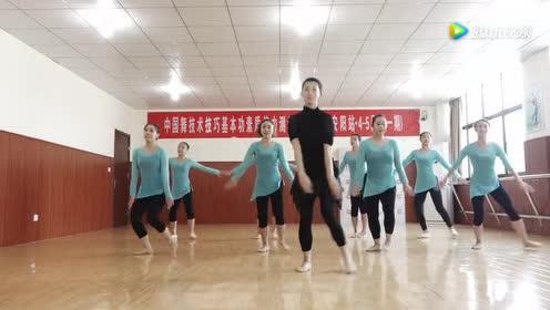 少儿舞蹈教学 跑跳、步伐 我也想上学!