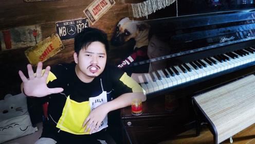 搞笑短故事:夜晚的钢琴房空无一人,却传出了弹钢琴的声音!