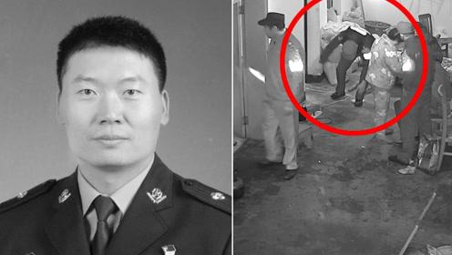 送别!浙江诸暨市37岁民警牺牲 生命最后一刻被拍下