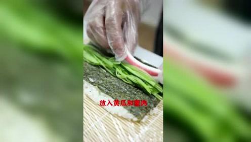 鱼子酱寿司材料就是这么简单,西点日料!