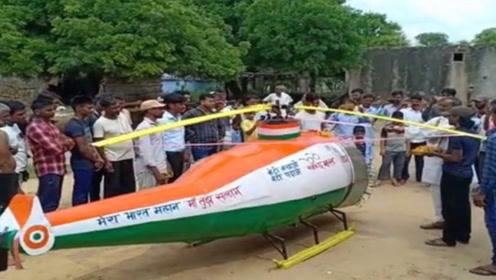 印度小伙废弃物自制直升机,还在全世界面前试飞,不愧是开挂民族