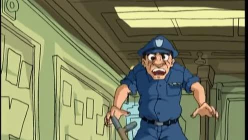 成龙历险记:小蛇隐身独闯监狱!搞笑般救出龙叔