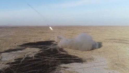 导弹在身边炸裂  我军合成旅作战动真格!