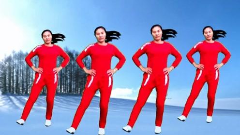 冬季腿部健身操,跳起来活血通络,脚不冷了全身暖和