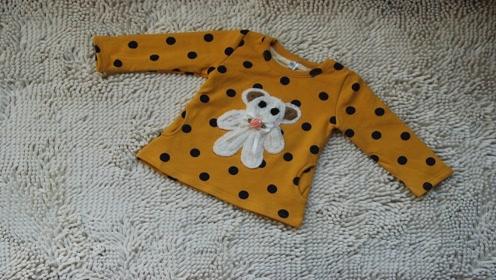 宝宝衣服变小穿不上别丢,简单改一改,成品即合身还能省钱