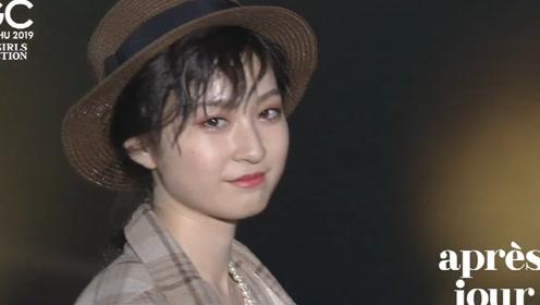 日本模特完美的容颜,尽显自然优雅,魅力全场!