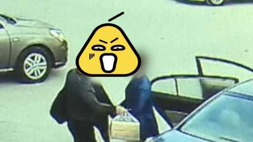 沙雕冲业绩系列:男子顺走香烟又想归还,当着失主面扔回车中