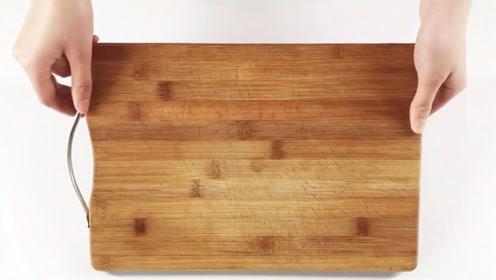新菜板买回家,只需简单处理几下,菜板用几年都不发霉不开裂,抓紧试
