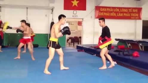 越南散打国家队如何训练来看看和中国有何不同!