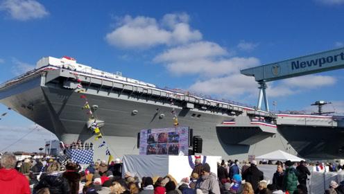 福特号2号舰刚命名,美海军就公开一画面,又牵出美军最头疼问题