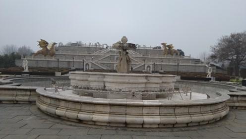 北京世界公园 意大利台地园