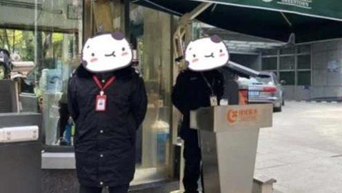 杭州一小区现两家物业,2个保安站岗:前物业不退,新物业已上班