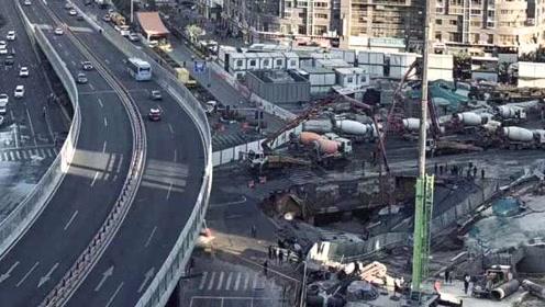 受吕厝路口路面塌陷影响,厦门地铁1号线部分站停运