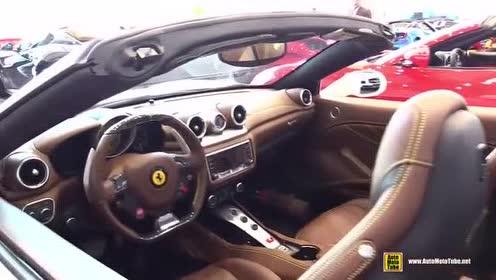 这辆跑车你喜欢吗?法拉利 California T