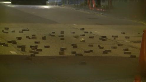 香港暴徒武器数量和杀伤力远超警方