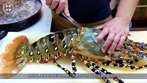国家一级厨师的刀工有多可怕?龙虾:我感觉我还可以抢救一下