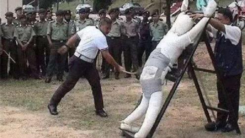 新加坡鞭刑是啥样?为何每个人听了都浑身起鸡皮疙瘩!网友:挨不过一鞭子!
