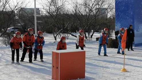 刺激!东北学生教科书式打雪仗:没雪季节纸团练