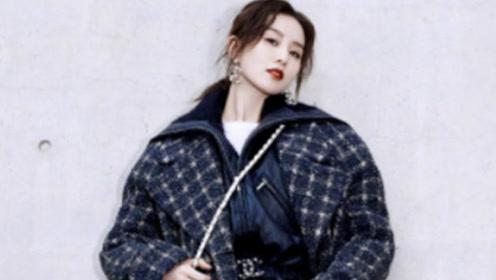 30岁的女人应该怎么穿 看看刘诗诗就知道了,格子纹大衣尽显气质