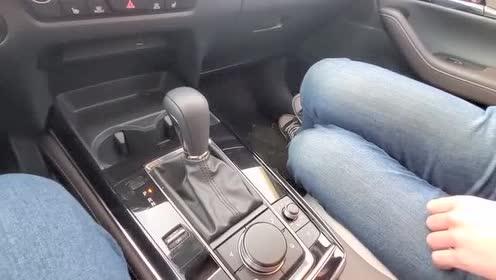 排挡杆区域功能体验,2020款 马自达CX-30