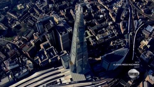 耗费1.1万块玻璃镶嵌而成的伦敦碎片大厦!冲上云霄的水晶高塔!