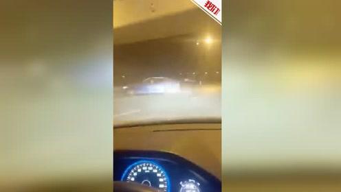 宜兴街头一蓝色宝马旋转漂移 警方:已介入调查