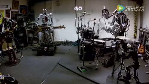 燃!机器人也玩摇滚 钢铁躯壳下的摇滚之心