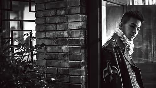 欧豪登《时装男士》12月明星刊封面
