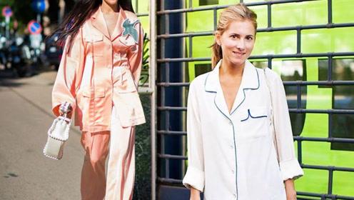 丝绸衬衫清爽又够味儿 初夏就该街边秀性感